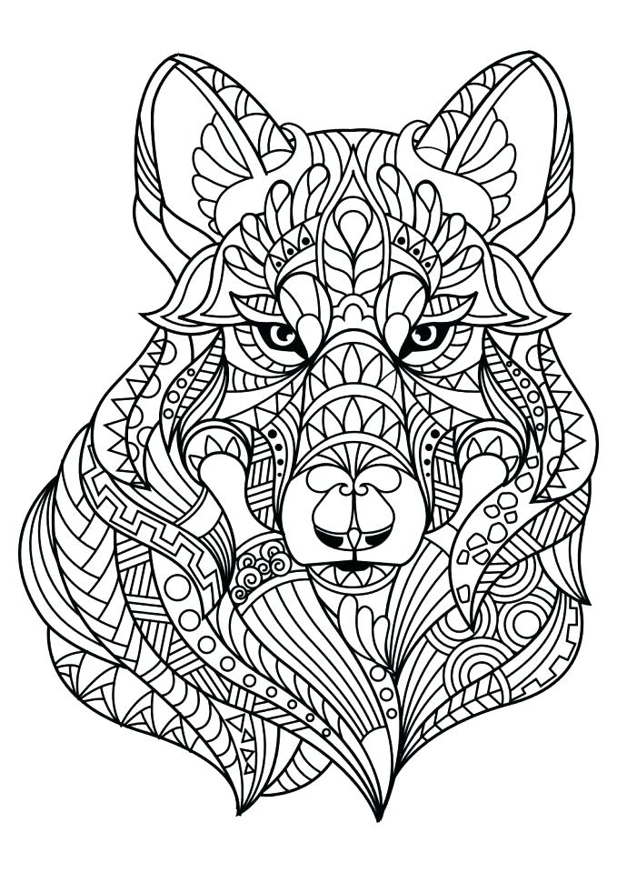 679x960 Coloring Pages Wolf Wolf Pup Coloring Pages Wolves Coloring Page
