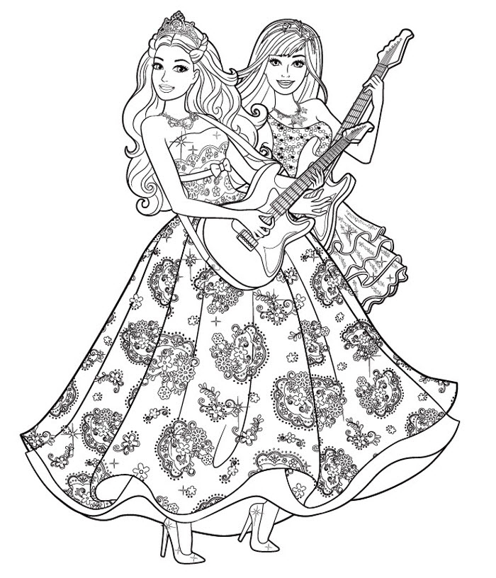 Grayscale Coloring Pages Free