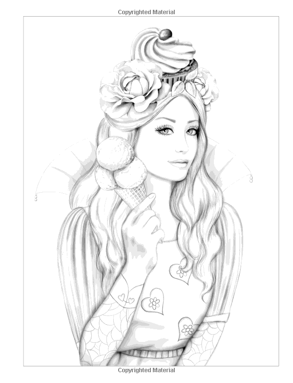 Grayscale Coloring Pages To Print At Getdrawings Com Free