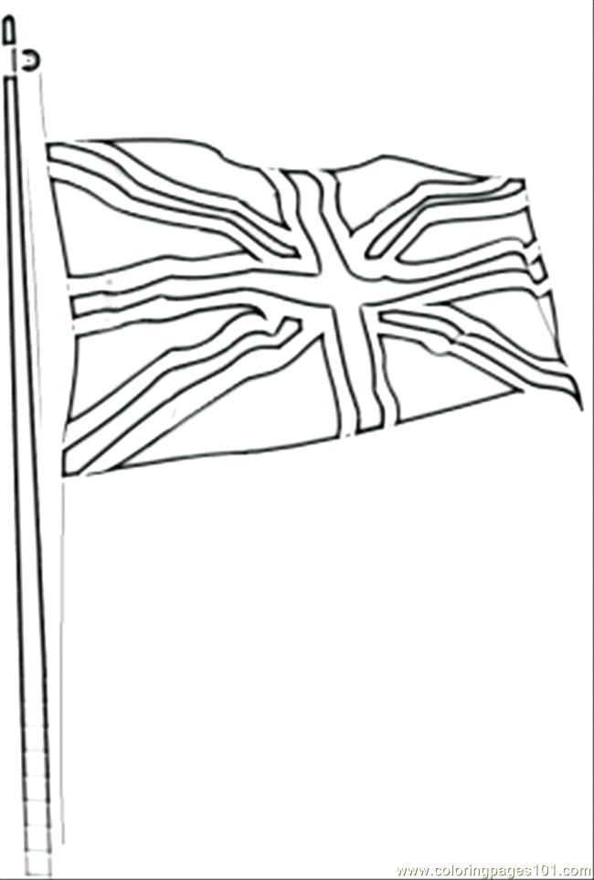 650x963 Flag Coloring Page Coloring Home Flag Coloring Page Great Britain