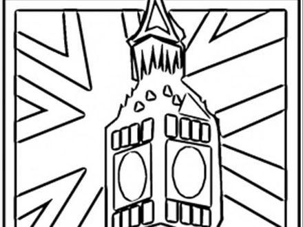 Great Britain Flag Coloring Pages At Getdrawings Com Free For