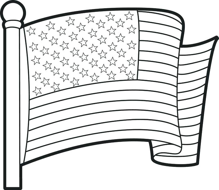 700x609 Flag Of To Color Kids More From Site States Flags Coloring Free