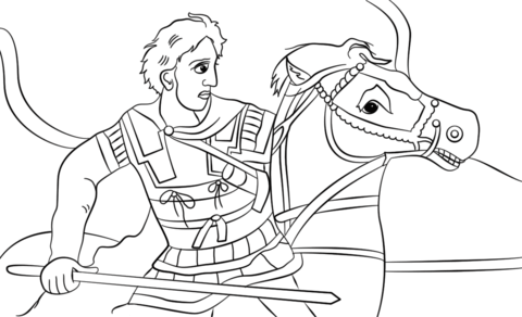 480x292 Great Coloring Pages Alexander The Great Coloring Page Free