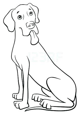 316x450 Great Dane Coloring Pages Great Coloring Pages Great Coloring