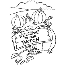 230x230 Top Free Printable Pumpkin Patch Coloring Pages Online