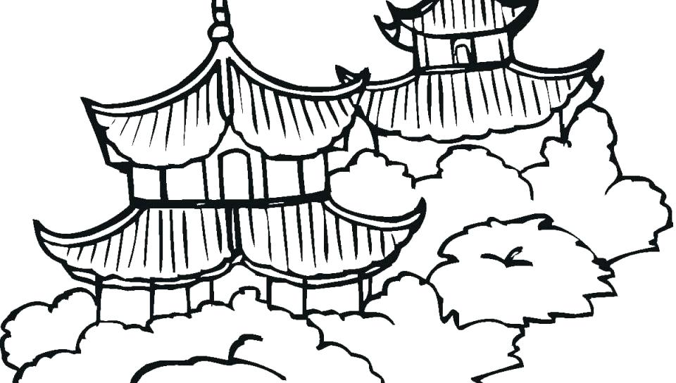 960x544 Great Wall Of China Coloring Page China Coloring Page The Great