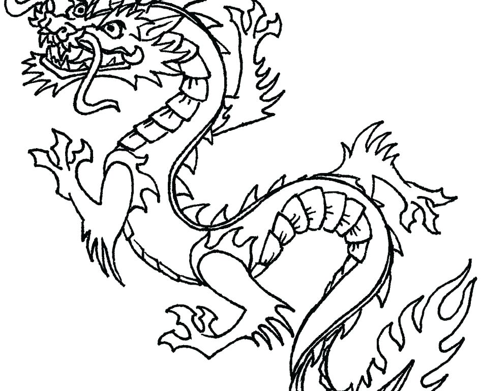 948x768 Coloring Pages Awesome Great Wall China Page Pictures Dragon