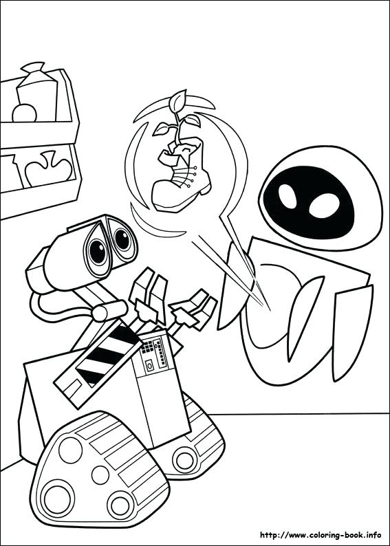 567x794 Wall E Coloring Page Index Coloring Pages Great Wall China