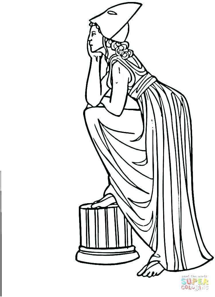 750x1035 Greek Coloring Pages Ancient Coloring Pages Coloring Home Greek