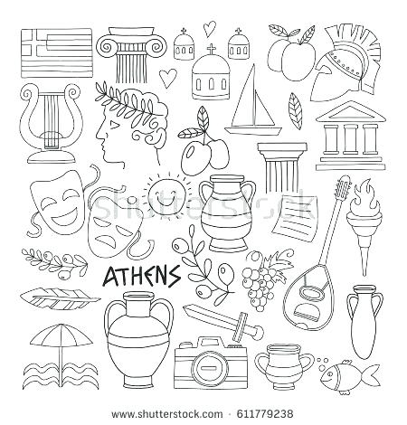 450x470 Ancient Greece Coloring Pages Ancient Coloring Pages Ancient