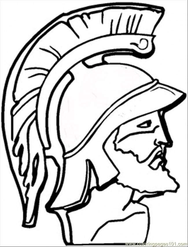 650x855 Greek Coloring Pages Coloring Page F Greek Warrior Coloring
