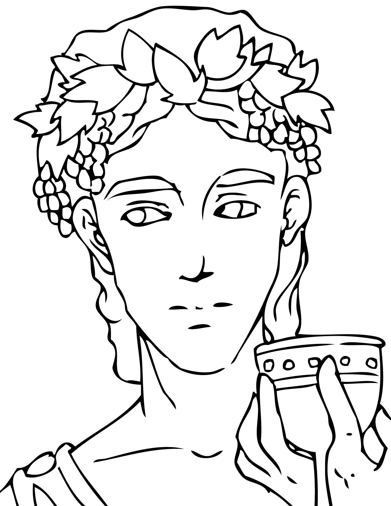 Greek Coloring Pages At Getdrawings Com Free For Personal Use