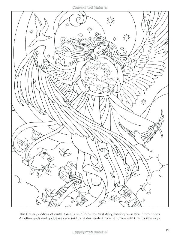 600x800 Surprising Greek God Coloring Pages