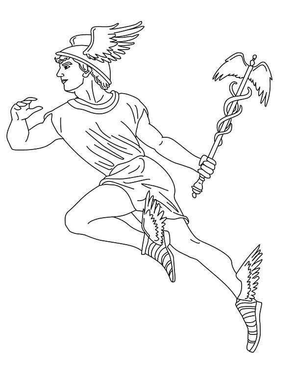Greek Myth Coloring Pages