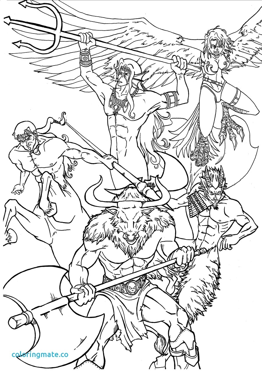 900x1273 Greek Mythology Coloring Pages Free For Kids