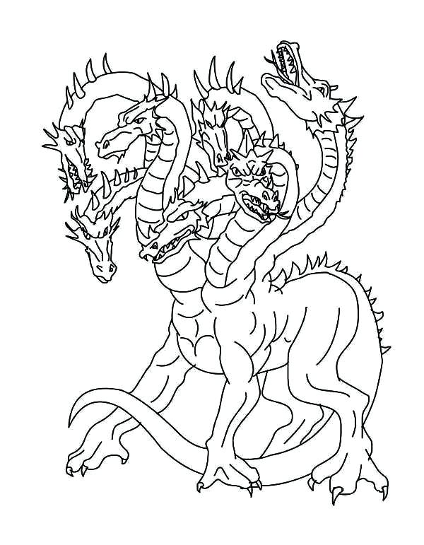 The best free Mythology coloring page images. Download ...