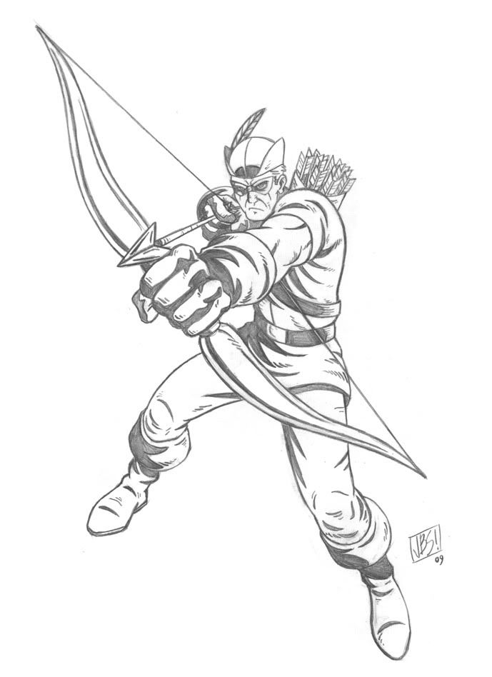 689x948 Green Arrow Coloring Pages Pictures Free Coloring Pages
