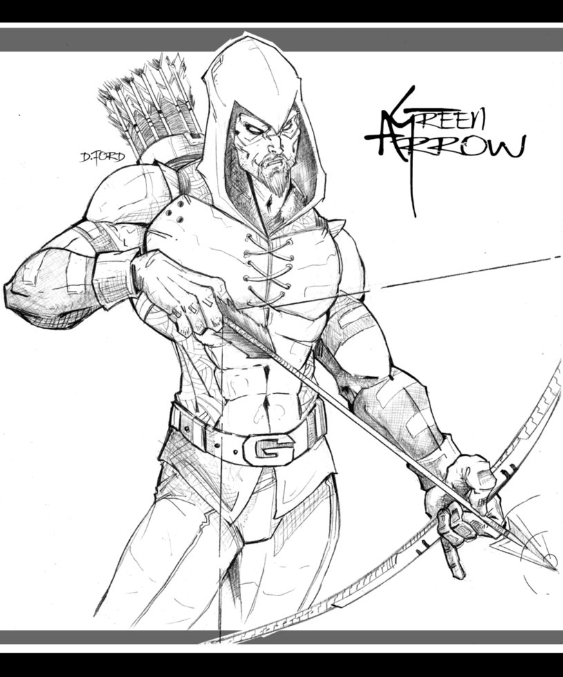 815x980 Fresh Green Arrow Coloring Pages On Line Drawings