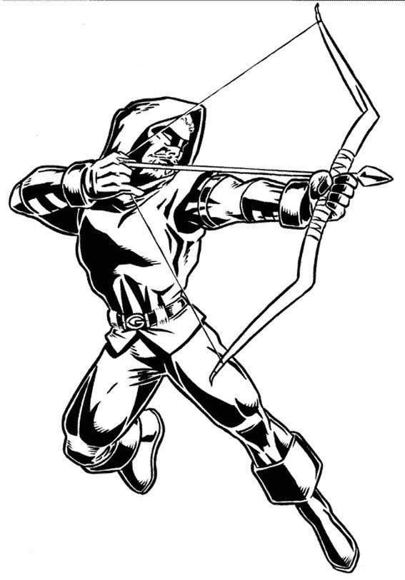 567x813 Green Arrow Coloring Pages Decorating Ideas Green