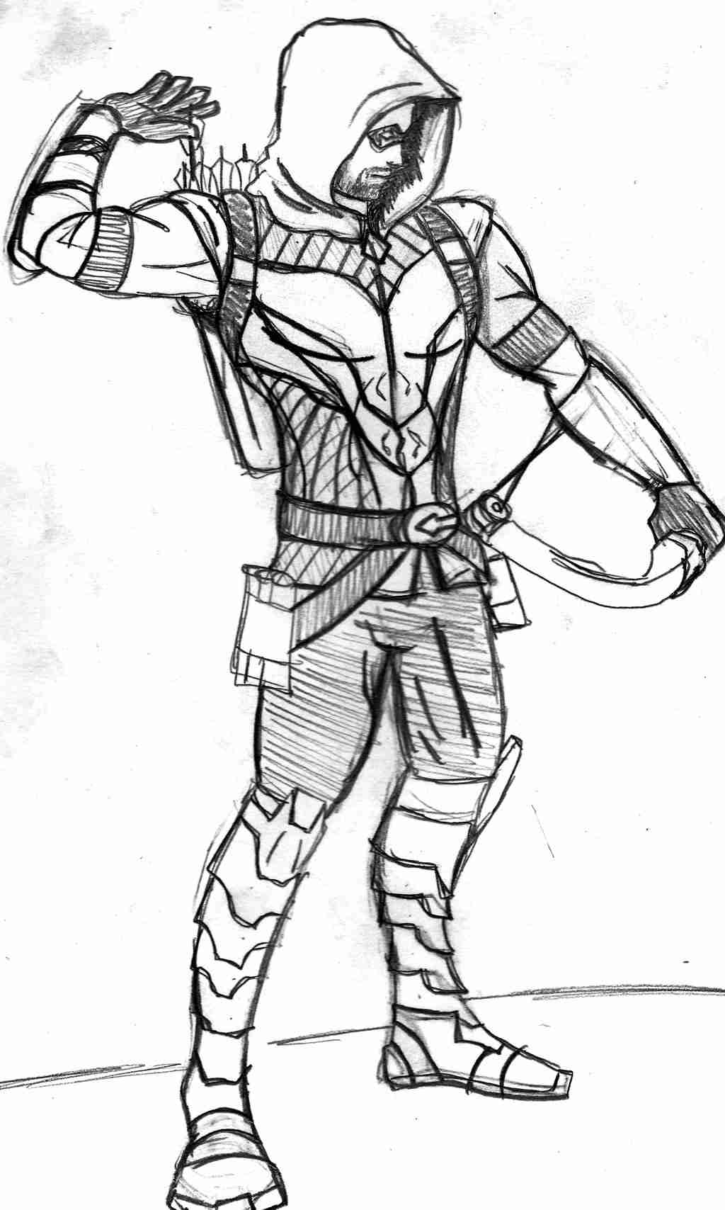 1024x1708 Green Arrow Coloring Pages