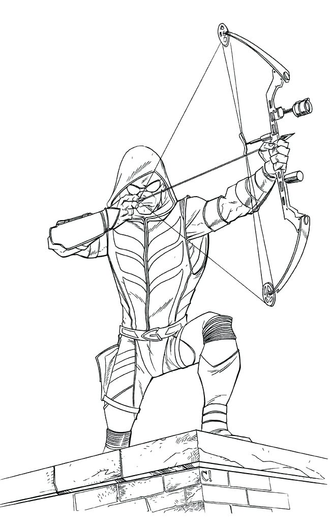 651x1041 Green Arrow Coloring Pages Green Arrow Coloring Pages Green Arrow
