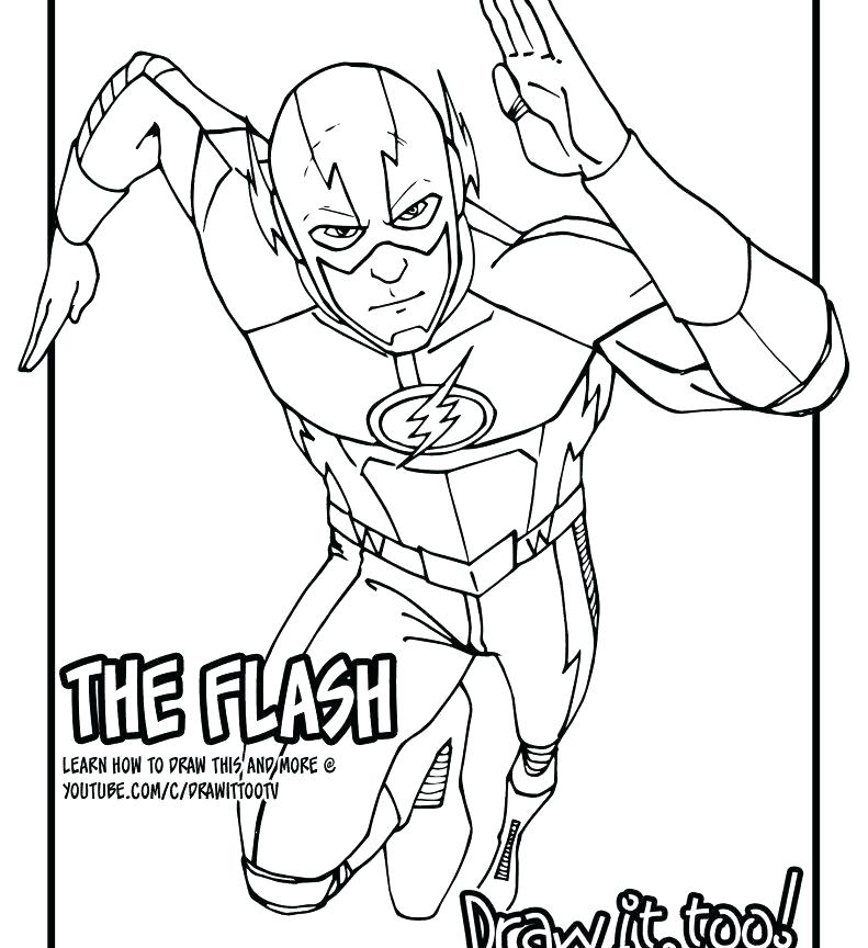791x864 Green Arrow Coloring Pages Green Lantern Coloring Page Flash