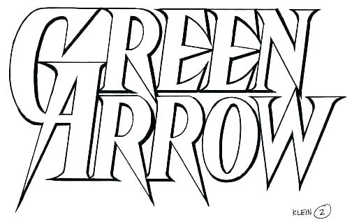 504x318 Green Arrow Coloring Pages New Coloring Pages With Designs Online