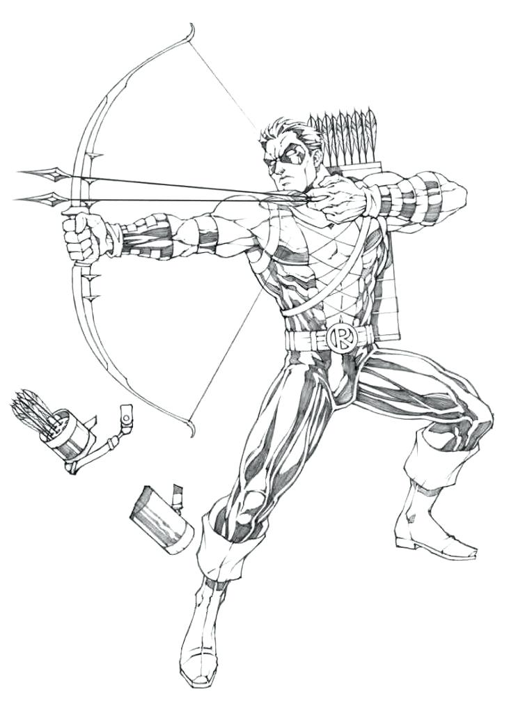 731x1024 Green Arrow Coloring Pages Wonderful Green Arrow Coloring Pages