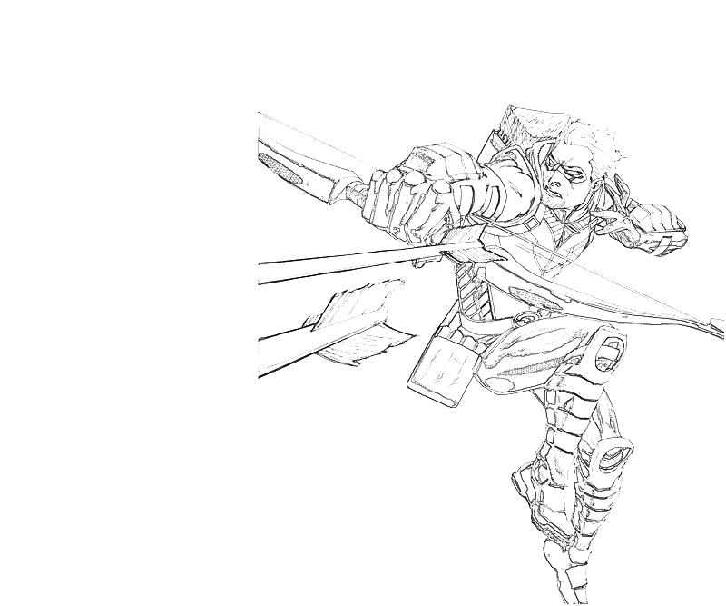 Green Arrow Coloring Pages At Getdrawings Com Free For