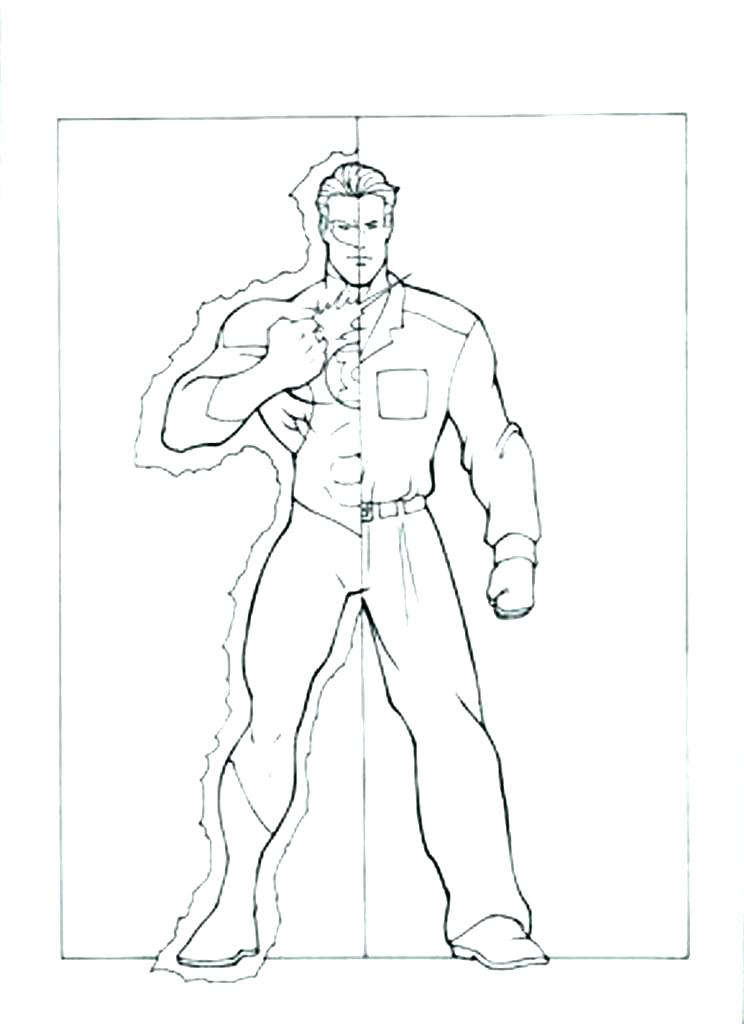 744x1024 Green Lantern Coloring Pages Green Arrow Coloring Pages Green