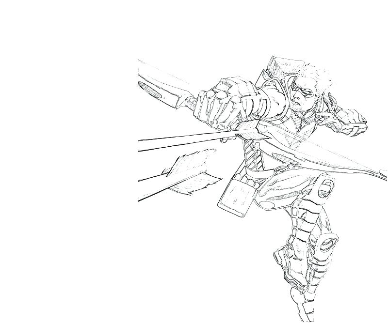 Green Arrow Printable Coloring Pages At Getdrawings Com Free For