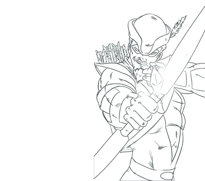678x600 Arrow Cw Coloring Pages Green Arrow Coloring Pages Green Arrow
