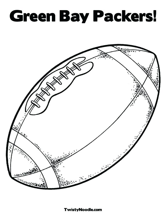 685x886 Green Bay Packer Coloring Pages