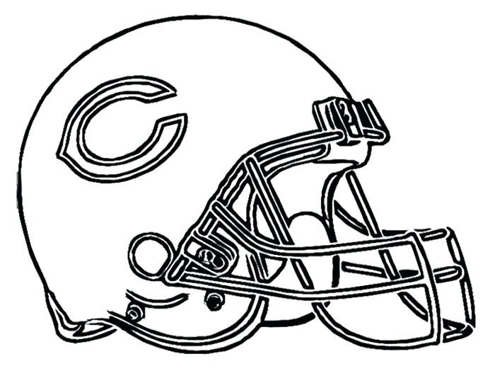 700x541 Green Bay Packers Coloring Pages Football Helmet Bears Coloring