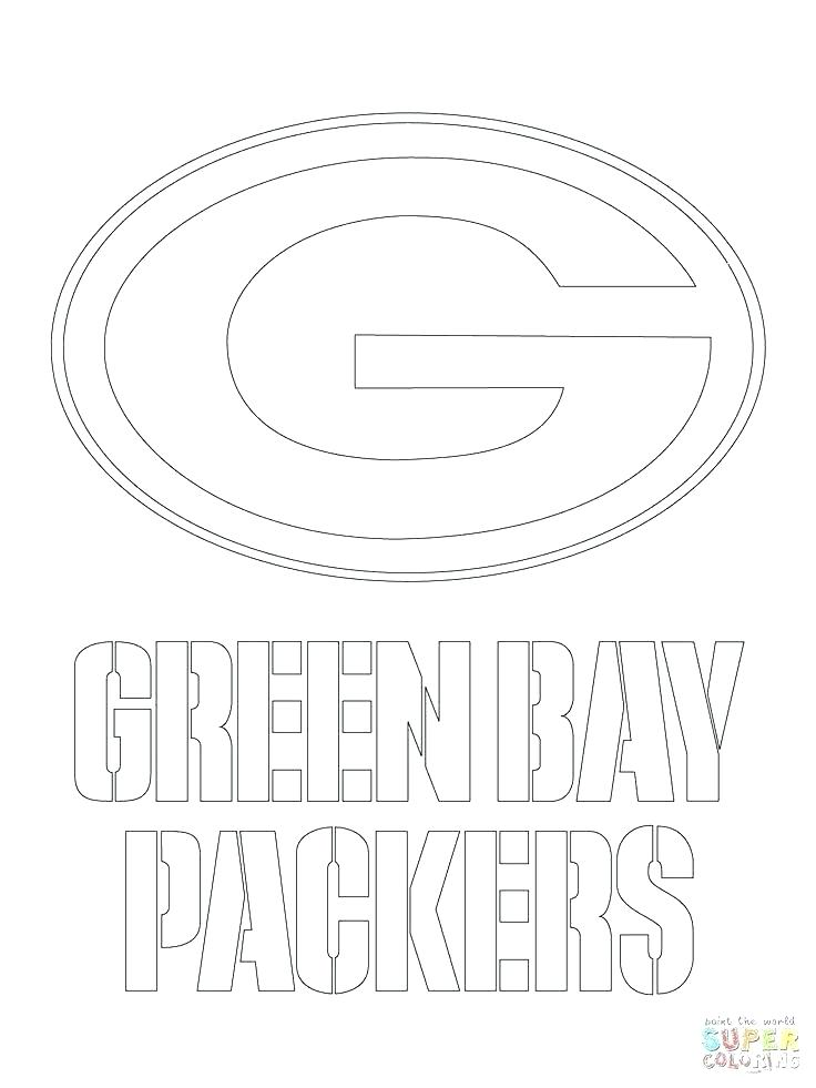 736x981 Coloring Green Bay Coloring Pages Packers G Black And White Also