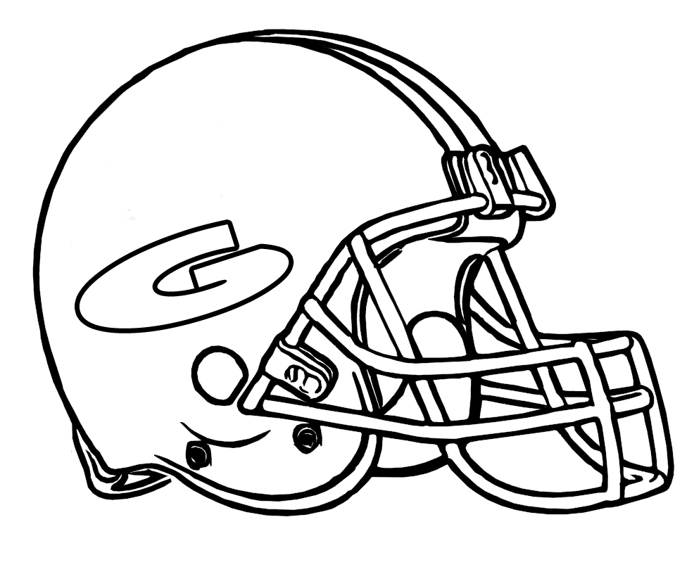 959x816 Green Bay Packers Helmet Coloring Pages