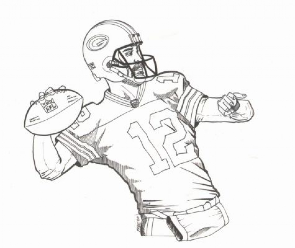 1024x862 Green Bay Packers Logo Coloring Page Free Printable Pages