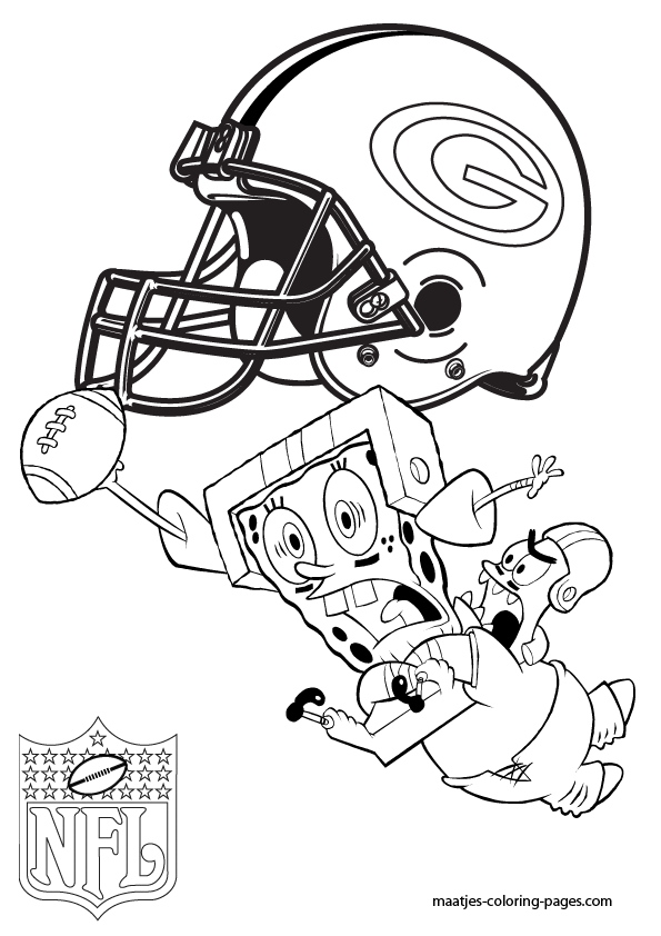 595x842 Smart Ideas Green Bay Packers Coloring Pages Printable For Kids