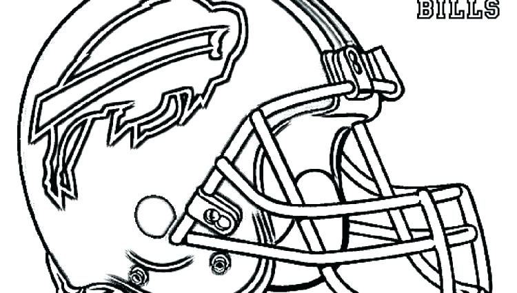 750x425 Coloring Pages Football Teams Football Helmets Coloring Pages
