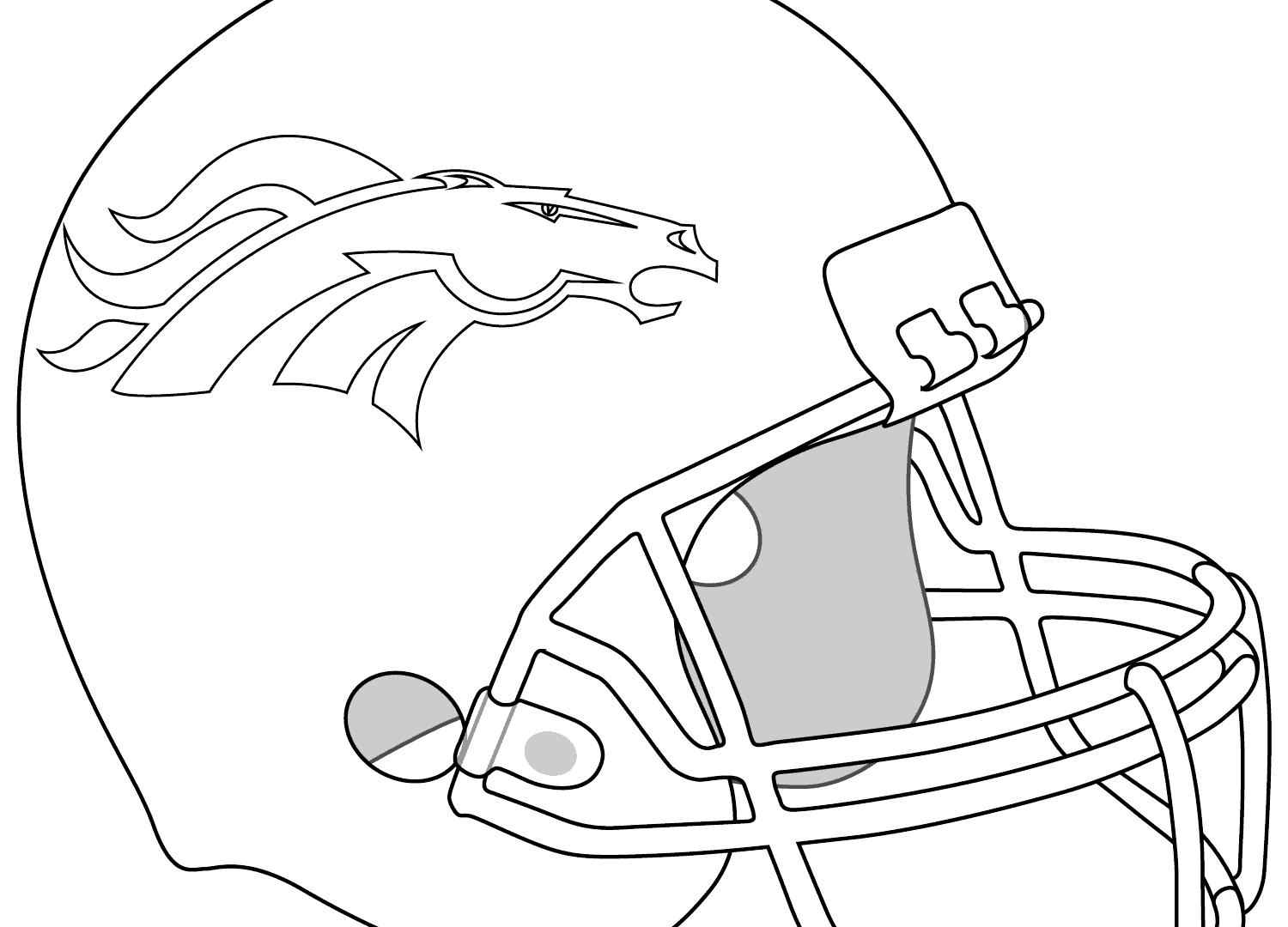 1500x1080 Green Bay Packers Logo Coloring Page Free Printable And Helmet