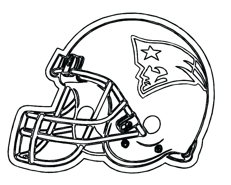 767x612 Free Football Coloring Pages