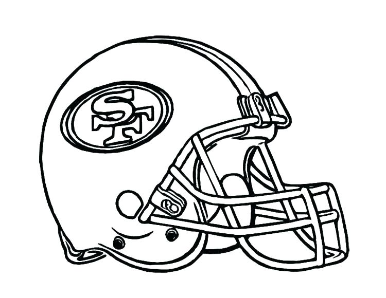 750x580 Coloring Pages Football Teams Football Helmets Coloring Pages