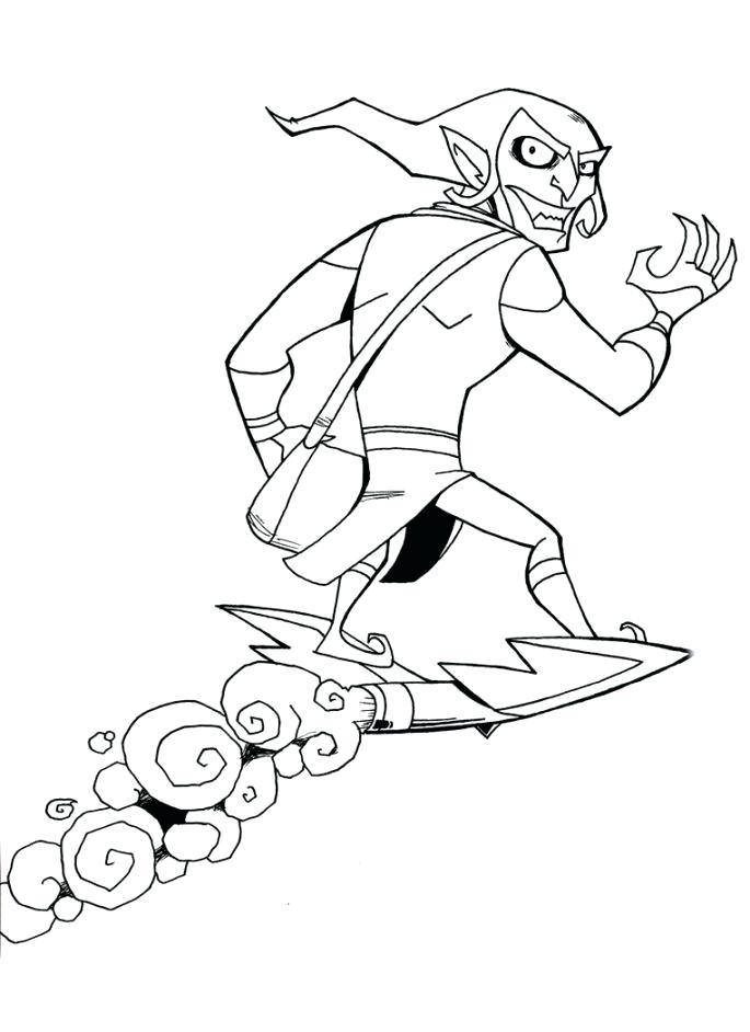 685x942 Green Goblin Coloring Pages Green Goblin Coloring Page Green