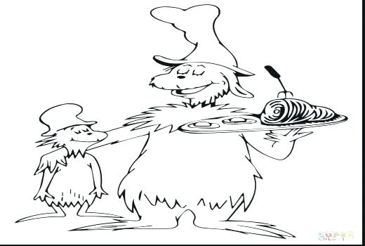 Green Eggs And Ham Coloring Pages Printable Free At Getdrawings Free Download