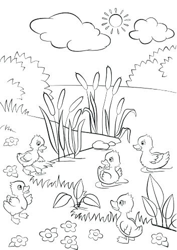 353x500 Grass Coloring Page Bunny Rabbit Standing On Grass Coloring Pages