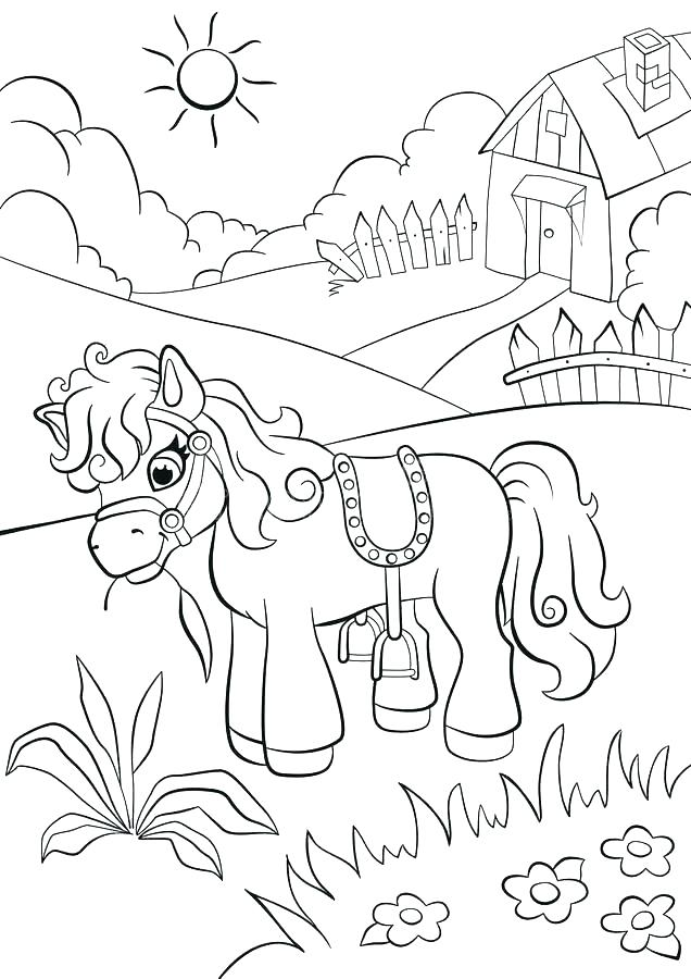 636x900 Grass Coloring Pages