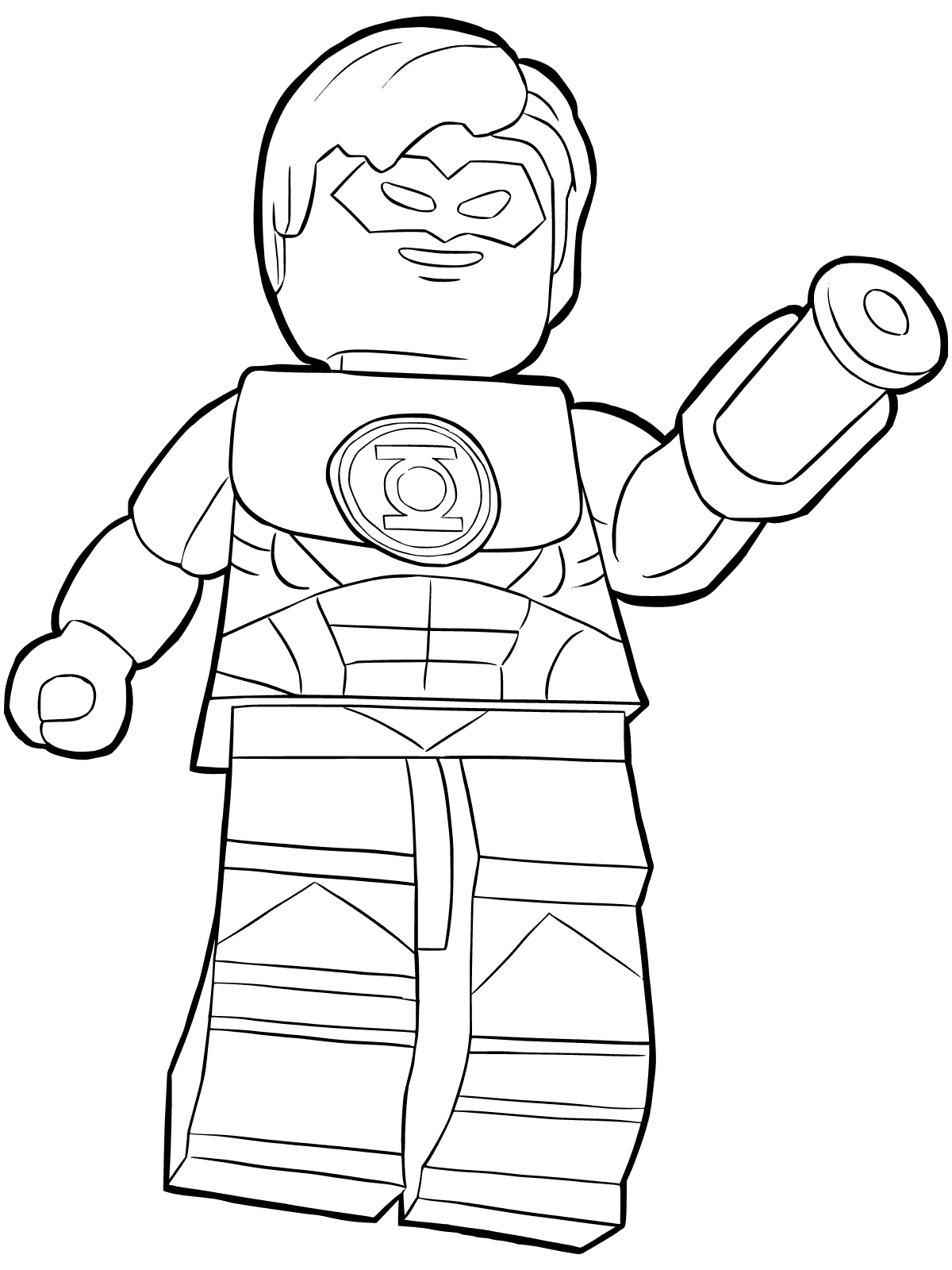 1200x1600 Green Lantern Coloring Pages