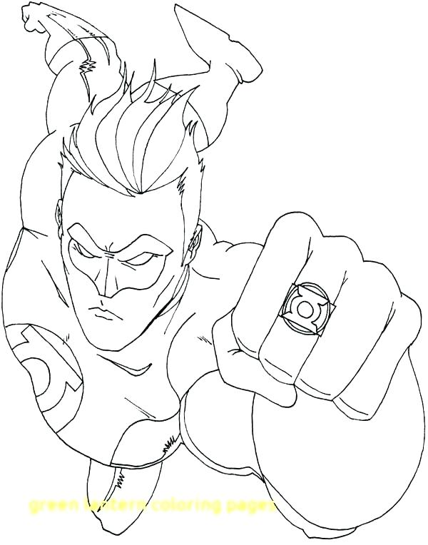 600x764 Green Lantern Coloring Pages Green Lantern Coloring Book Together