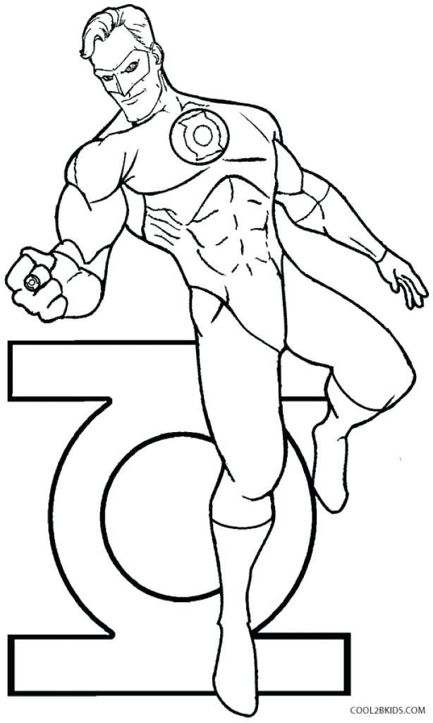 614x1024 Green Lantern Coloring Pages Unique Green Lantern Coloring Pages