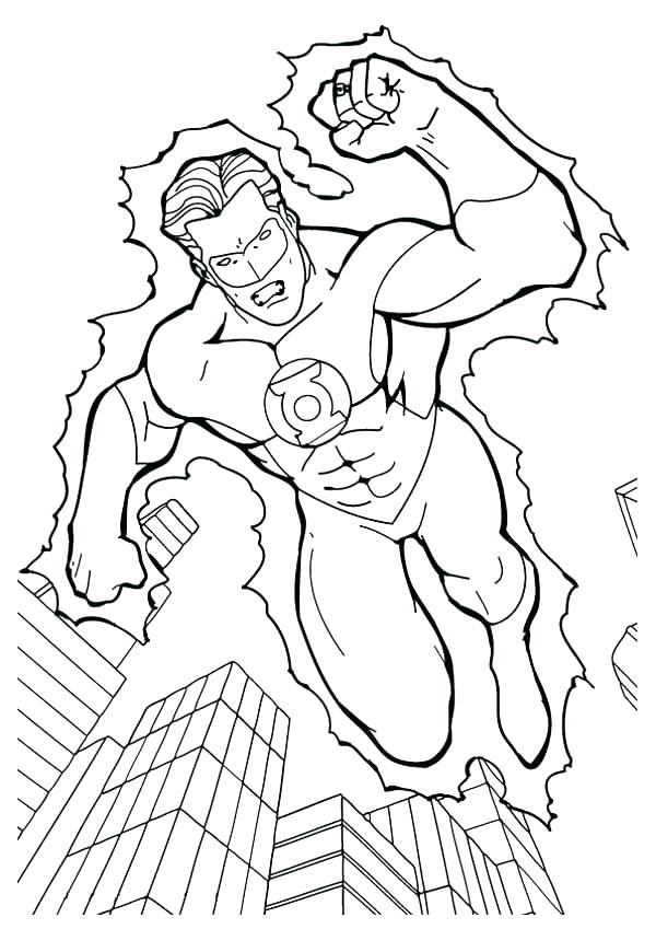 600x849 Lego Green Lantern Colouring Pages Coloring Pages Superman B